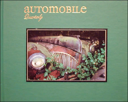 Automobile Quarterly 22/2 - Sleeping Beauties - unrestored 1941 Lincoln Continental on magazine title