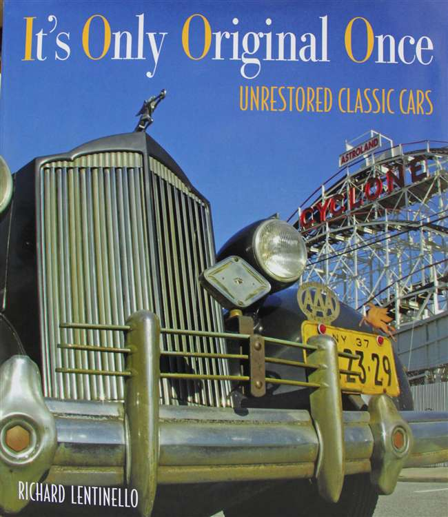 Its only original once - Barn find book